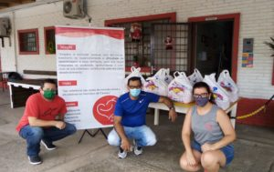 """Doações aos projetos sociais : Projeto Solidário Viva Rua Associação Grupo Chimarrão da Amizade """"Gentil Gomes de Oliveira"""""""